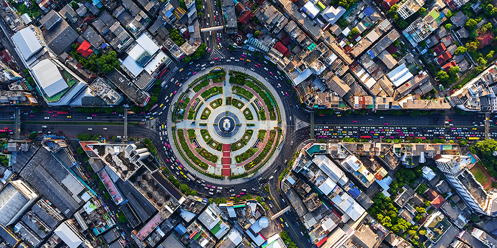 City-aerial-view