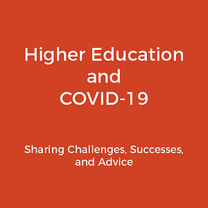 Higher ed COVID