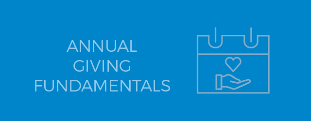 Annual Giving Fundamentals