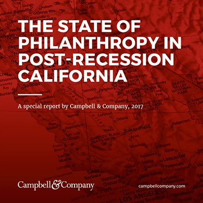 The State of Philanthropy in Post-Recession California